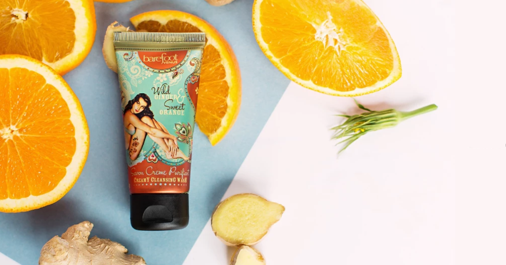 lotion wash summer time self care barefoot venus powell river